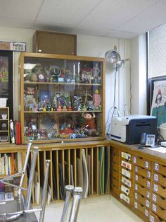 toy cabinet for still life drawings