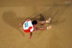 long jump men