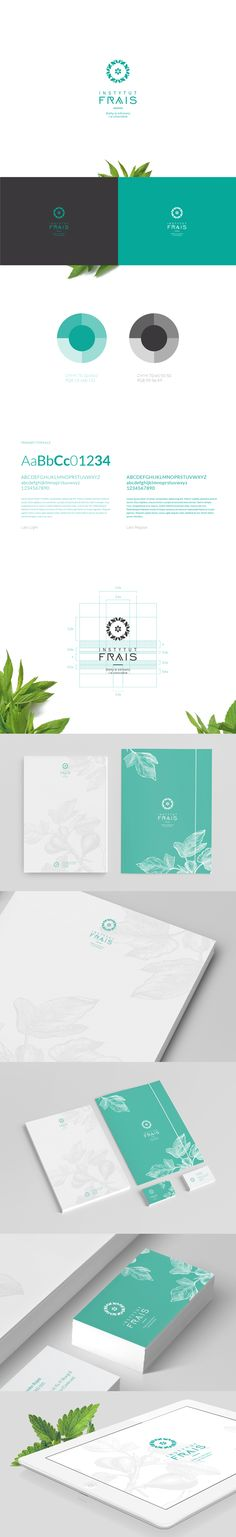 Frais by Motyf , via Behance I could eat this for breakfast | #stationary #corporate #design #corporatedesign #identity #branding #marketing < repinned by www.BlickeDeeler.de | Take a look at www.LogoGestaltung-Hamburg.de