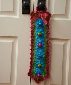 Maggie's Crochet   Free Chenille Bells Pattern