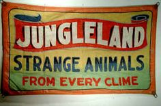 Vintage Sideshow Posters