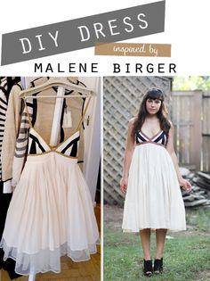 DIY Malene Birger Dress - FREE Sewing Tutorial