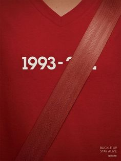 Quebec Automobile Insurance Society: Seatbelts, Red  Love these! So simple.