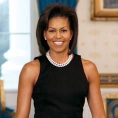 Michelle Obama.  I can't imagine what pressures she's experienced as the first African American First Lady but she has done it with quiet grace, charm, physical and spiritual strength, and family values.