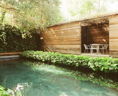 pool @ ray kappe's / photographed by leslie williamson.