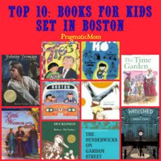 Top 10: Books for Kids Set in Boston :: PragmaticMom