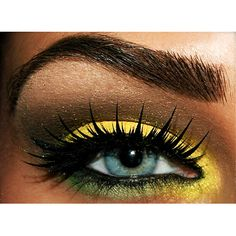 love these lashes... and the beaming yellow of course