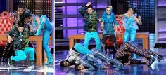 America's Best Dance Crew... Lady Gaga style with fillable ornaments
