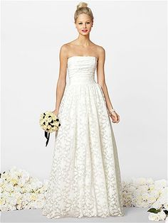 Trying to win a wedding.......After Six Wedding Dresses Style 1037 http://www.dessy.com/dresses/wedding/1037/ #Pin2Win