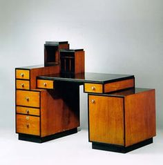 Art Deco: Paul T. Frankl - Skyscraper desk ca.1927. @Deidré Wallace