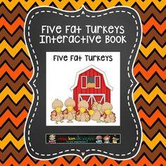 Adapted Book: Five Fat Turkeys