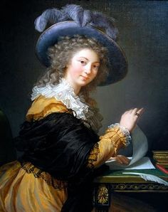 A portrait by the incomparable Elizabeth Vigee Le Brun (click on image to read more)