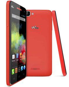 "SMARTPHONE WIKO RAINBOW 5"" CORAL 5/QUADCORE/1GB/4GB/DUAL SIM/ ANDROID4.2 177,81€ PVP #tiendanexus"