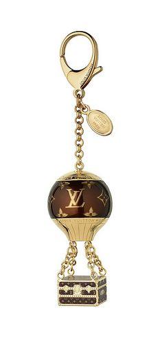 louisvuitton, fashion, charms, style, accessori, bag charm, loui vuitton, hot air balloons, louis vuitton bags