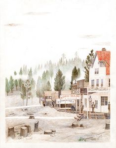 Carson Ellis, 1850s Portland