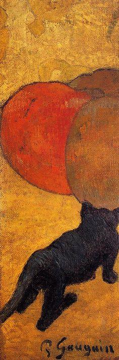 Gauguin. A little cat, 1888.