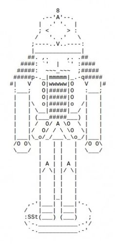 One Line Ascii Art Birthday : Vampires sexy and spooky in ascii text art