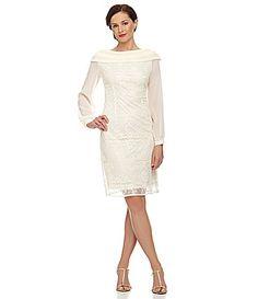 Le Bos Scalloped Lace Dress $35