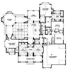 Floor Plans On Pinterest House Plans Floor Plans And