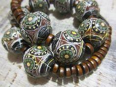 Ethnic beads from polymer clay | Fair Masters - handmade, handmade