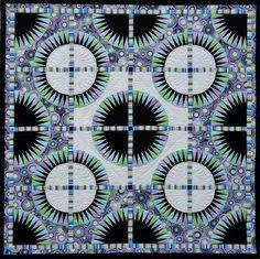 Black Beauty quilt by Jacqueline de Jonge | Be Colourful