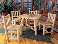 Cute outside table set