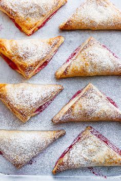 Cranberry Pear Puff Pastry Turnovers | Fork Knife Swoon