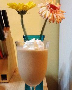 Carrot Cake Coconut Milk Shake - Oh so creamy + dairy-free, vegan, optionally gluten-free