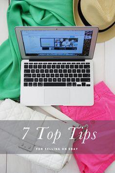 IHeart Organizing: UHeart Organizing: 7 Top Tips for Selling on eBay