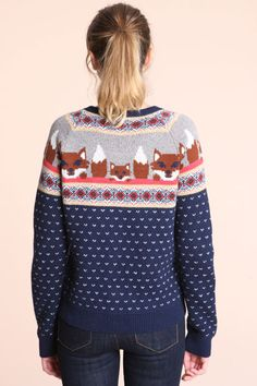 I want this foxy jumper