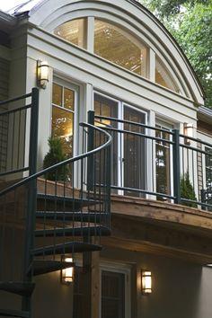 Spiral Stair On Pinterest Spiral Staircases Deck Design