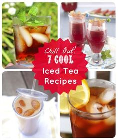 Chill Out! 7 Refreshing Iced Tea Recipes