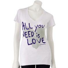 "The Beatles' ""All You Need is Love"" tee, kohls.com, $20"