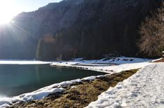 The lake Montriond i