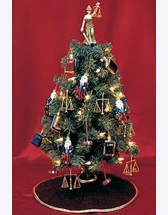 """""""Lawyer"""" Christmas Tree (For Counsel)"""