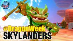 Skylanders DRAGON WEEK Jade Fire Kraken #skylanders #toys #collecting #dragonweek