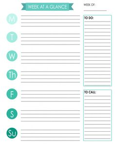 {Free download} Arc Planner Printable