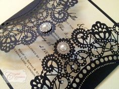 Gatsby laser cut Wedding Invitation -no this one is perfect!