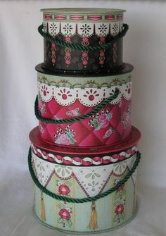 Mary Engelbreit Hat Boxes for Cute Organization by veraviola