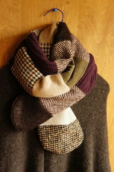 patchwork scarf inspiration