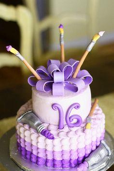 Art cake by paulahennig, via Flickr,  Go To www.likegossip.com to get more Gossip News!