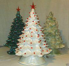 """Custom 13""""-15""""T Full Christmas Tree-Light Kit Base-Ceramic-NEW-Made To Order on Etsy, $74.99"""