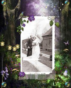 Mom & Dad's wedding, 1945