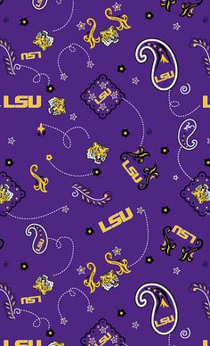 Louisiana State University Collegiate Logo by CottonBlossomFarm, $9.00
