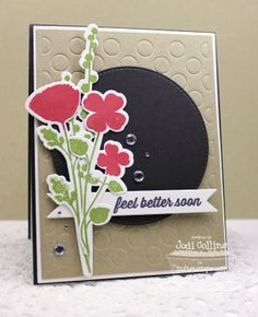 Grand Peaceful Wildflowers, Get Well Wishes, Grand Peaceful Wildflowers Die-namics, Stitched Circle STAX Die-namics, Polka Dot Cover-Up Die-namics, First Place Award Ribbon Die-namics, Blueprints 1 Die-namics, Blueprints 2 Die-namics - Jodi Collins #mftstamps
