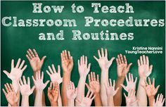 Smooth Sailing into a New School Year: Teaching Classroom Routines