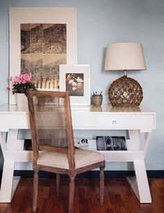 Lonny Magazine July/Aug 2011 | Photography by Patrick Cline; Interior Design by Lonny. This is my next desk.