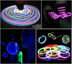 Ideas for a Glow in the Dark Party or Mitzvah - LED Light Up Party Favors & Giveaways - mazelmometns.com