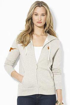 Ladies Polo Ralph Lauren Fleece Full- Zip Hoodie