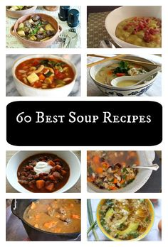 60 Best Soup Recipes | Great collection of recipes, just in time for fall, from @lilfamadventure  #soup #souprecipe #cleaneating #realfood